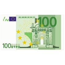 Geldverlosung 100 Euro