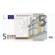 Geldverlosung 5 Euro